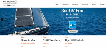 BM Yachting im neuen Look