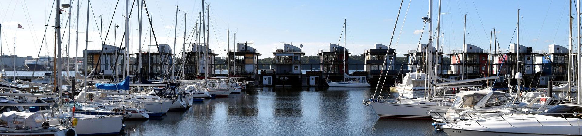 Flensburg, Sonwik, Wasserhäuser