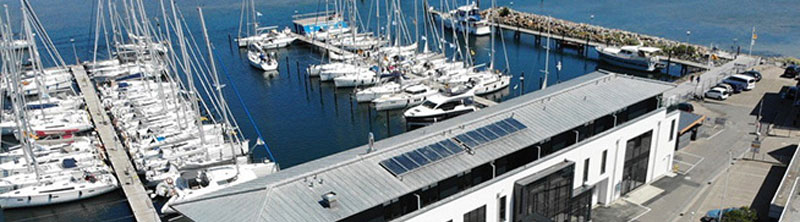 BM Yachting, Stützpunkt Heiligenhafen