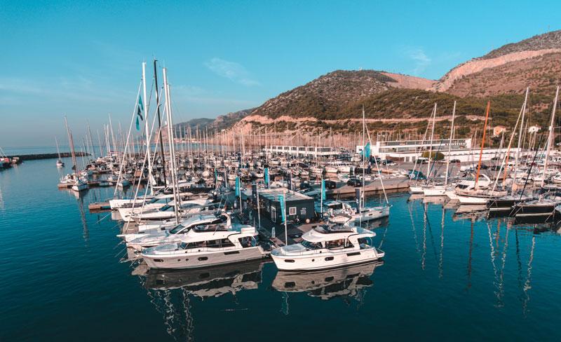 Sea Trial Base Port Ginestra